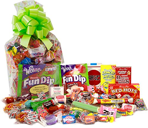 Candy Crate Spring Time Gift Bag of Nostalgic Retro Candy