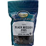 Shiloh Farms Organic Black Mission Figs -- 12 oz - 2 pc