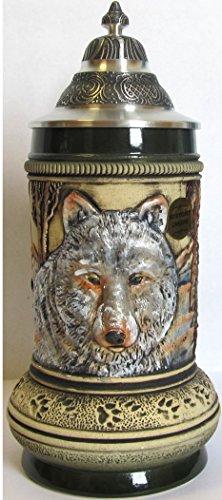 Beer Steins By King - Thewalt 1893 Wolf Stein(Beer Mug) 0.5l Limited by KING