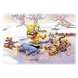 Winnie the Pooh Tigger Disney Cartoon Poster 24 x 36 inches