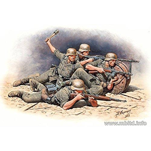 Masterbox 1/35 German Infantry Defense Eastern Front 1941-42 (5 Figures)