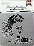 Donna Downey Stencils DD-117 Signature Stencils 8.5''X8.5''-Frida
