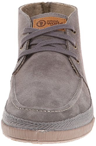 Men's Suede Boot Chukka World Nautico Gris Natural BHw85qxW