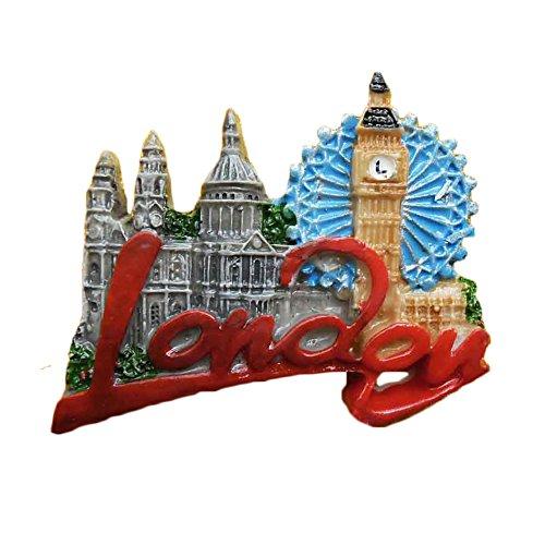 London UK Refrigerator Magnet 3D Big Ben Travel Sticker Souvenirs,Resin Home & Kitchen Decoration,London England UK Fridge Magnet from China