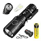 Bundle: Nitecore MH20GT CREE XP-L HI V3 LED 1000 Lumens USB Rechargeable Flashlight With NL186 18650 Rechargeable Battery+Skyben USB Light and Car Charger