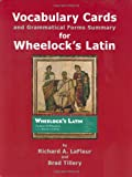 Wheelock's Latin Grammar Flashcards, LaFleur, Richard A., 0865165572