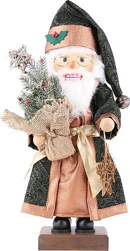 Christian Ulbricht Nutcracker - Santa with Fir Tree - Limited Edition - 48,5 cm / 19.1 inch