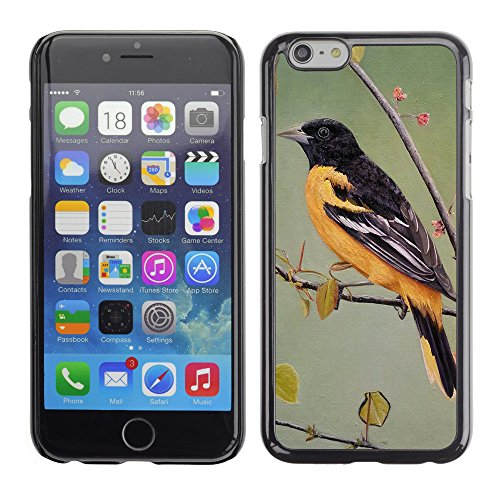 Premio Sottile Slim Cassa Custodia Case Cover Shell // F00010343 oiseau // Apple iPhone 6 6S 6G 4.7""