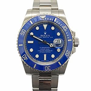Rolex Submariner swiss-automatic mens Watch 116619LB (Certified Pre-owned)