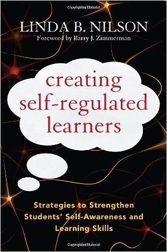 buy creating self regulated learners strategies to strengthen