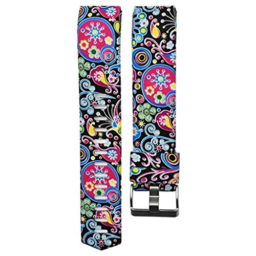 Price comparison product image Fashion Clearance! Noopvan for Fitbit Charge 2 Straps Replacement Bands Adjustable Accessory Wristbands for Fitbit Charge 2 Large Small Variety of Colors Patterns (B)