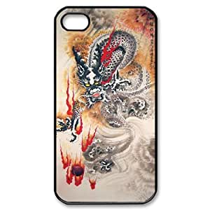 Chinese Dragon IPhone 4/4s Case, Sexyass - Black