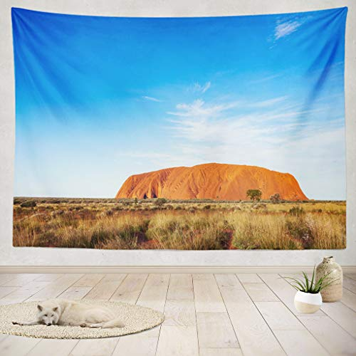ASOCO Tapestry Wall Hanging Rock Sandstone National Park Northern Territory Australia Wall Tapestry for Bedroom Living Room Tablecloth Dorm 80