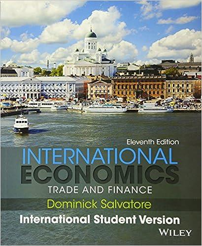 International Economics Dominick Salvatore 10th Edition Pdf