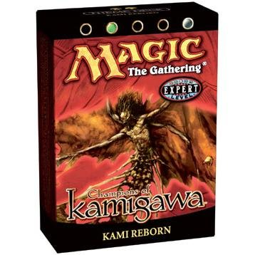 Deck Kamigawa Theme (Magic the Gathering MTG Champions of Kamigawa Kami Reborn Theme Deck)