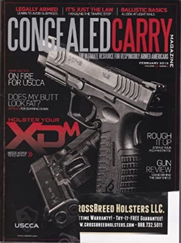 concealed carry magazine february 2013 kevin michalowski amazonconcealed carry magazine february 2013 kevin michalowski amazon com books