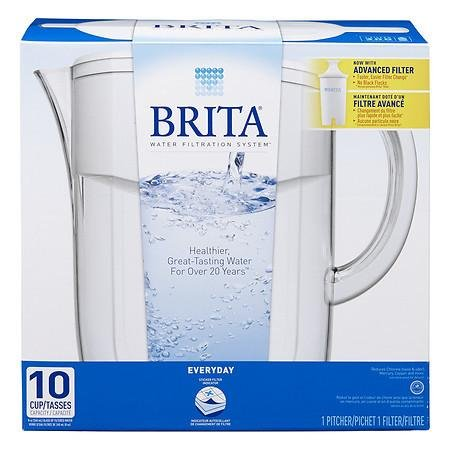 Brita Everyday Water Filter Pitcher 10 Cup - 3PC by Brita