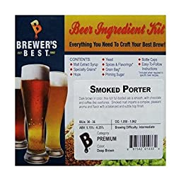 Smoked Porter Homebrew Beer Ingredient Kit by Brewer\'s Best