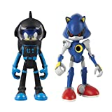 TOMY T22048 Sonic Boom 2 Figure Pack, Spacesuit Sonic & Metal Sonic Action Figure