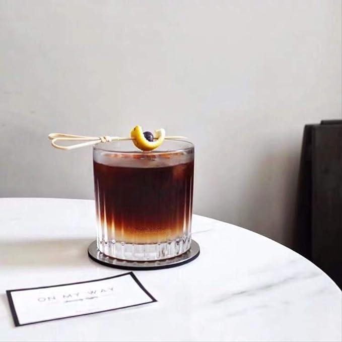 FGKL Taza De Café Copa De Jugo De Cristal De Whisky De Copa ...