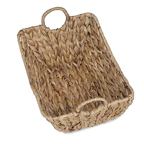 The Lucky Clover Trading Audrey Rush Utility Side Handles-14in Basket Natural