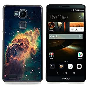 Beautiful Space Galaxy Caja protectora de pl??stico duro Dise?¡Àado King Case For HUAWEI Ascend Mate 7