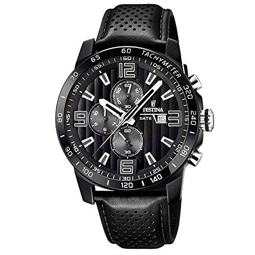 Men's Watch - Festina - F20339/6 - Chronograph - Date - Black