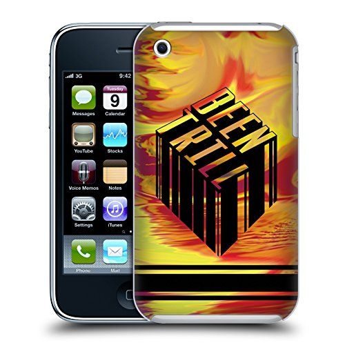 Official Been Trill Yellow Ochre Tie Dye Hard Back Case for Apple iPhone 3G / 3GS
