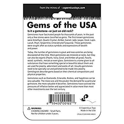 GEMS OF THE USA collection | Copernicus Toys | 16 gems from around the USA: Toys & Games