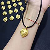 cool 999 - Generic small custom gold 999 gold necklace pendant _cool_ necklace pendant _sling