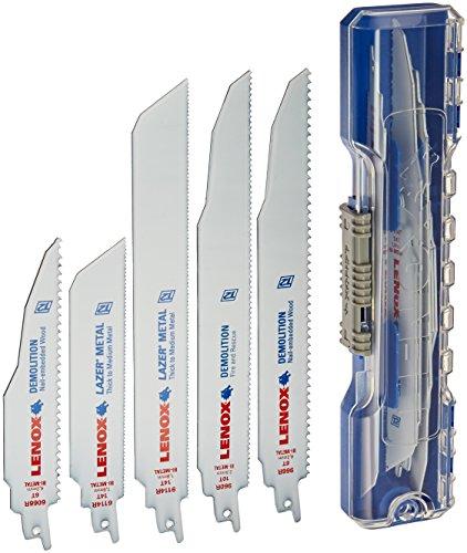 - LENOX Tools Demolition Reciprocating Saw Blade Kit with Bonus Storage Case, 12-Piece Set