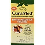Terry Naturally CuraMed BCM-95 Curcumin -Better than Tumeric 750 mg 60 Softgels