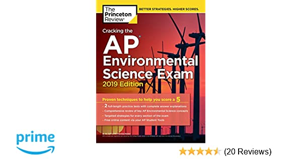 Cracking The AP Environmental Science Exam 2019