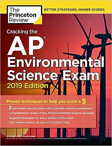 Cracking The AP Environmental Science Exam 2019