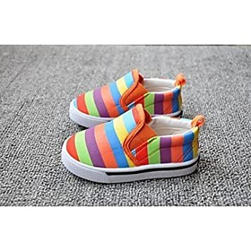 TYHQ Zapatos de bebé Informal Lienzo Mocasines Multi-color , Multi Color , US8.5 / EU25 / UK7.5 Toddle: Amazon.es: Deportes y aire libre