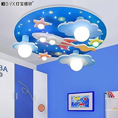 BL Modern European style Universe stars children's room ceiling lamp with led white light lamp bedroom environment for boys and girls cartoon 610610190mm,Ceiling Lamp (110-120V)