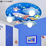 BL Modern European style Universe stars children's room ceiling lamp with led white light lamp bedroom environment for boys and girls cartoon 610610190mm,Ceiling Lamp (110-120V)