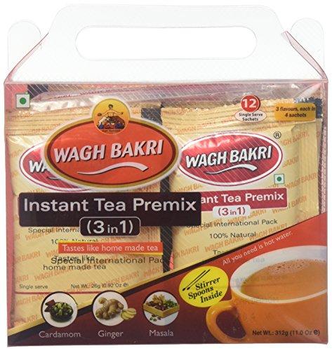 Wagh Bakri, Instant Tea Premix, 12 Unit(s) ()