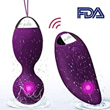 Kegel Exercise Weights -Ben Wa Ball Sets Kegel Balls for Beginners & Pleasure- Doctor Recommended for Women & Girls Bladder Control & Pelvic Floor Exercises (Purple)