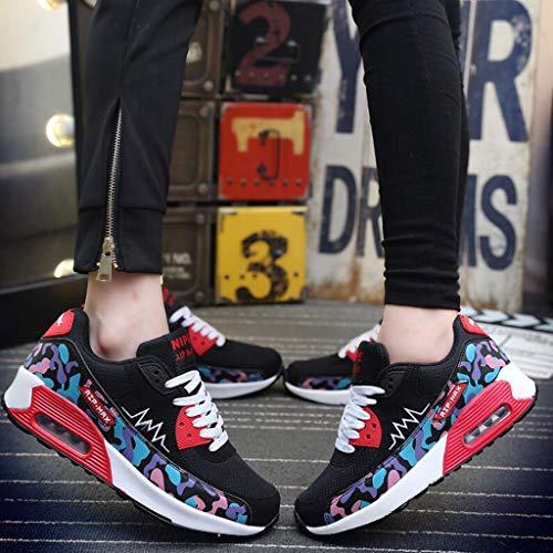 Air Chaussures Chaussures A YiWu Sport De de Chaussures dans Hommes l'augmentation Chaussures Sport Couleur Chaussures B pour Coussin Chaussures CN44 UK9 EU43 Loisirs Size De Hommes 4ZqqdAYxw