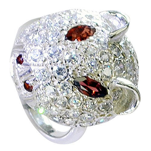 - Genuine Garnet Silver Ring Cluster Setting Marquise Gemstone Jewelry Avaliable In Size 5,6,7,8,9,10,11,12
