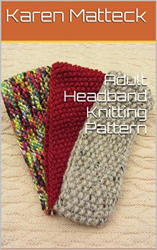 Adult Headband Knitting Pattern
