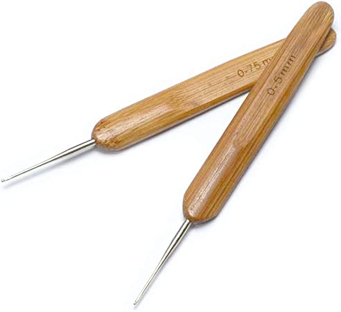 1PC Crochet Needle Hooks Plastic Handle Tool Dreadlock Braiding Hair Tools DIY