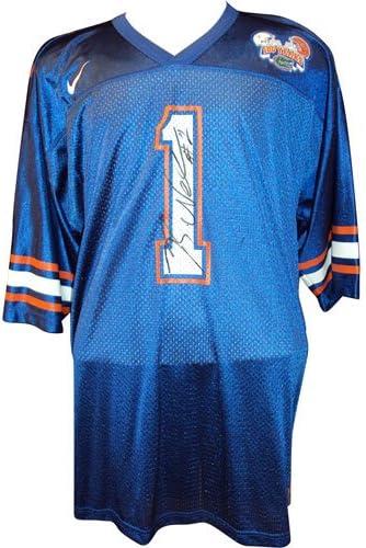 Amazon.com: Reggie Nelson Autographed Florida Gators (Blue #1 ...