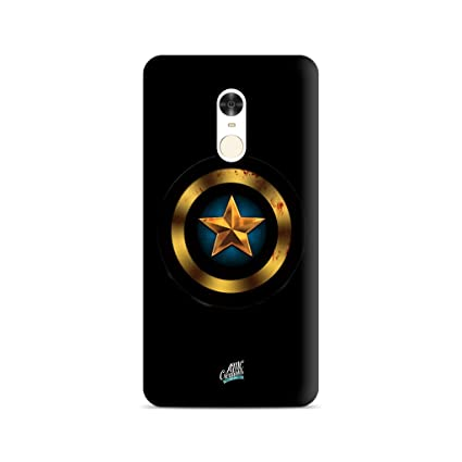Captain America Printed Back Cover for MI Redmi Note 4
