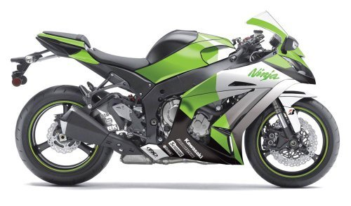 Price comparison product image Factory Effex 15-15122-G EV-R Series OEM Green Color Complete Street Bike Graphic Kit for Kawasaki Ninja ZX-6R