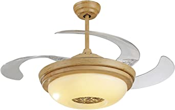 Ventilador de techo chino luz invisible ventilador de la lámpara ...