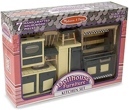 toys, games, dolls, accessories, dollhouse accessories,  furniture 11 image Melissa & Doug Doll-House Furniture- Kitchen Set promotion