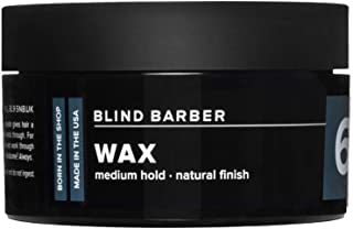 product image for Blind Barber 60 Proof Wax - Matte Styling Wax for Men - Medium Hold, Workable Matte Texture with Volumizing Hops Extract - Water Based & Free of Greasy Oils (2.5oz / 70g)