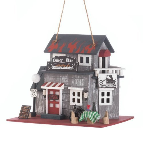 Koehler Home Decor Biker Bar Birdhouse by Koehlerhomedecor